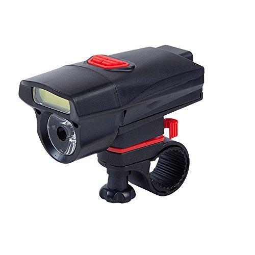 A/B COB LED Fahrradlicht,IPX6 Wasserdicht mit 100 Lumens Fahrrad Scheinwerfe,2 Licht-Modi Frontlicht,akkubetriebenes Vorderlicht für alle Fahrräder, Berg, Straße