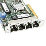 Tarjeta de Red Gigabit de 4 Puertos Tarjeta de Red Gigabit de Puerto, para Tarjeta de Red HP Ethernet, Tarjeta Gigabit Networ, Piezas de Accesorios de computadora