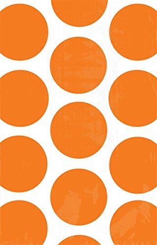 Generique - 10 Sacs à Bonbons en Papier Orange