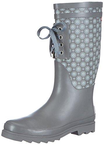 Sanita Damen Aniston Welly Gummistiefel, Grau (20 Grey), 38 EU