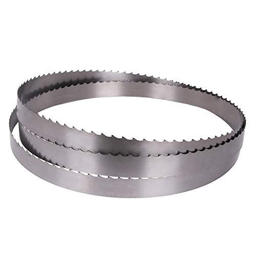 Wnuanjun 1pc Durable 19mm 27mm 34mm 41mm 54mm 67mm 80mm Schneidwerkzeug aus Metall Bandsäge Bimetal Sägeband Metall Kappsäge (Größe : 4300x19x0.9)