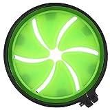 Niiyen Paintball Speed Feed, Outdoor PP Plástico Verde Negro Pétalos Triangular Tolva de Tapa de Puerta Universal con Buena Durabilidad y Alta portabilidad para Uso Generalizado