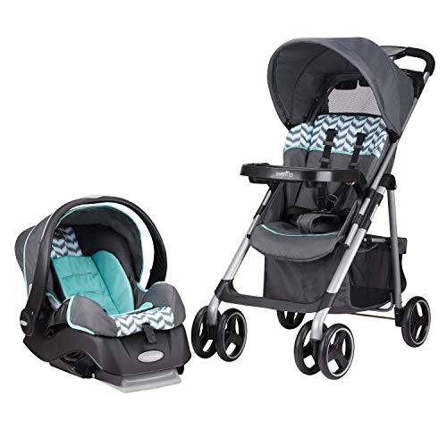 Evenflo Vive Travel System with Embrace Infant Car Seat,...