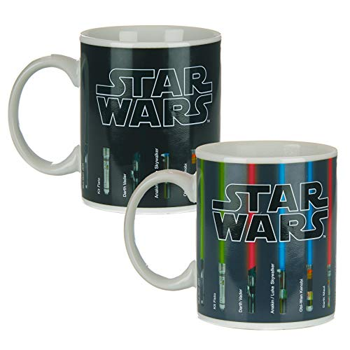 Star Wars Lightsaber Calor Cambio Taza, Multi