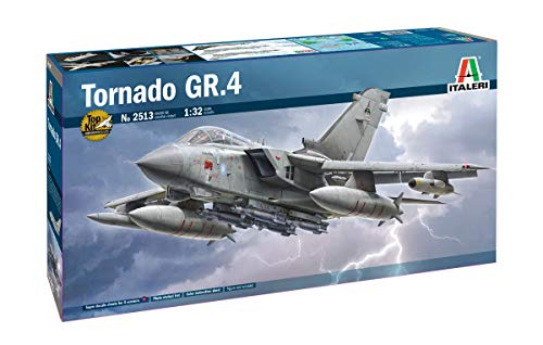 Italeri 2513S 1:32 Tornado GR.4, Modellbau, Bausatz, Standmodellbau, Basteln, Hobby, Kleben, Plastikbausatz, detailgetreu