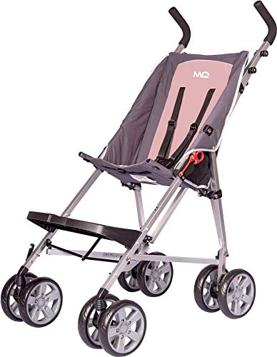 MobiQuip Elise Pushchair Budget XL, Special Needs Buggy, Disability Pushchair for Older Child, Large Pushchair, Pink