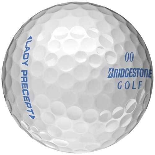 Bridgestone Golf Lady Precept Golf Balls (Pack of 12), Pink