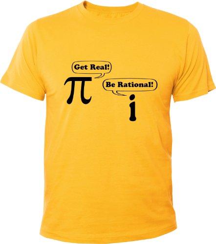 Mister Merchandise Cooles Fun T-Shirt Get Real! Be Rational! Math Nerd