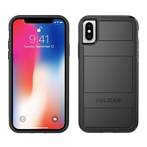iPhone X Case | Pelican Protector iPhone X Case (Black)