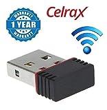 Celrax Wi-Fi Receiver 300Mbps, 2.4Ghz, 802.11B/G/N USB 2.0 Wireless Wi-Fi Network Adapter