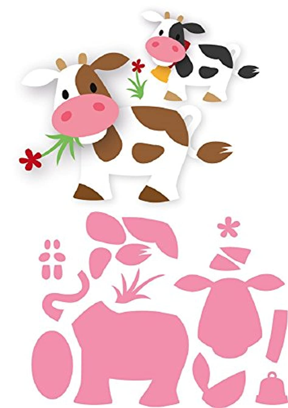 Marianne Design Collectables Cutting Dies - Eline's Cow COL1426