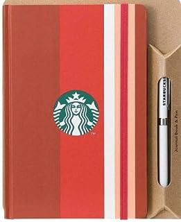 限定品 スターバックス ジャーナルブック ペン 福袋 2020 ストライプ STARBUCKS 文房具 ステーショナリー