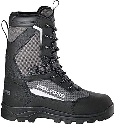 Polaris Men's Switchback Boot Black and Grey Size