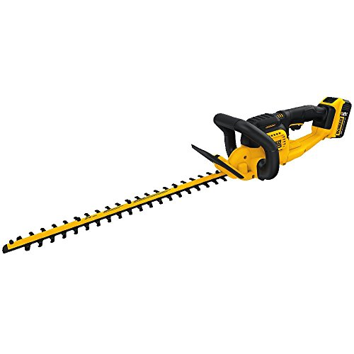 DEWALT 20V MAX Cordless Hedge Trimmer, 5.0 Ah,...