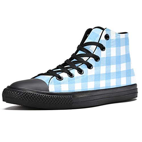 LoRVIES - Zapatillas de deporte cuadradas para hombre, (multicolor), 41 EU