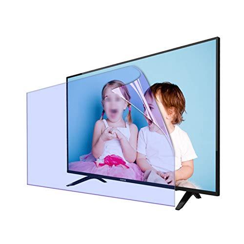 AWSAD Protector Pantalla de TV, Filtro Pantalla de Bloqueo Luz Azul 27-75 Pulgadas por HDTV LCD, LED, OLED Y QLED 4K Aliviar La Fatiga Ocular (Color : Anti-Blue Light, Size : 48 Inch 1056 * 596mm)