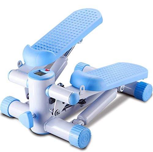 HAOT Stepper,Petit Stepper Équipement de Sport à Domicile Multifonctionnel Tuyau de poêle hydraulique réglable Mini vélo d'exercice Portable Taille Mince Machine Taille 40 * 29 * 17 cm (Couleur: