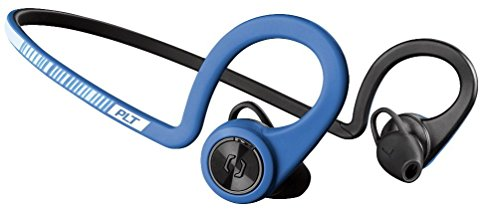 Plantronics BackBeat Fit II - Auriculares Deportivos inalámbricos, Color Azul