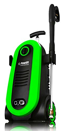 POWER Pressure Washer NXG-2200 PSI 1.76 GPM Electric 14.5Amp BRUSHLESS Induction Technology | The Next Generation of Pressure Washer | 4X More Lifespan | Ultra Low Sound | New Design(Green)