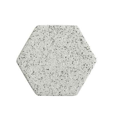 Manyao Lujo único mármol Rosa Oro cerámica placamat Coaster Porcelana esteras Almohadillas de Mesa Accesorios de decoración de la Mesa Regalo de la Herramienta de la Cocina (Color : Granite Hexagon)