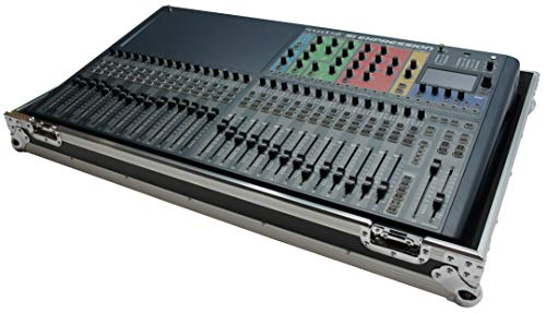 Harmony HCSIEX 3 Flight Transport Road Case Compatible with Soundcraft Si Expression 3 Mixer