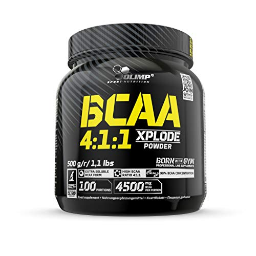 Olimp BCAA 4:1:1 Xplode powder - Aminosäuren, Geschmack Fruchtsaft, 1er Pack (1 x 500 g)