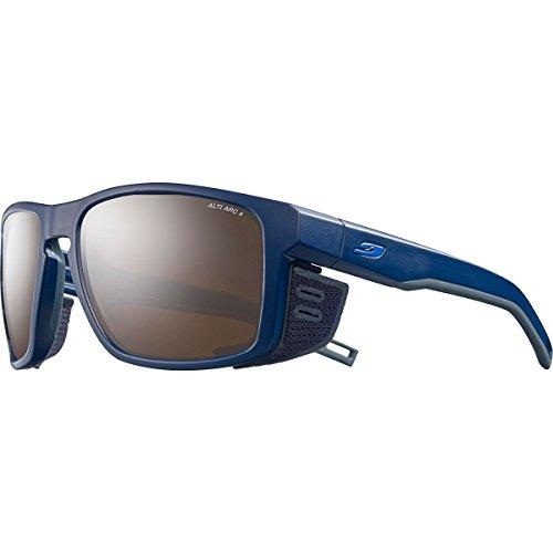 Julbo Shield Sonnenbrille Unisex Erwachsene one size Blau/Schwarz/Blau.