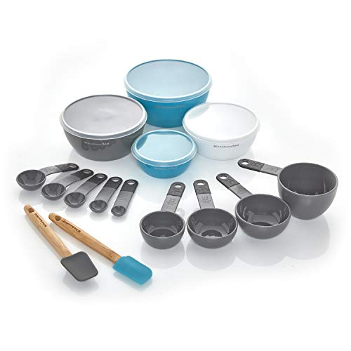 KitchenAid Prep and Measure Küchenwerkzeug-Set, 15-teilig, Anthrazit
