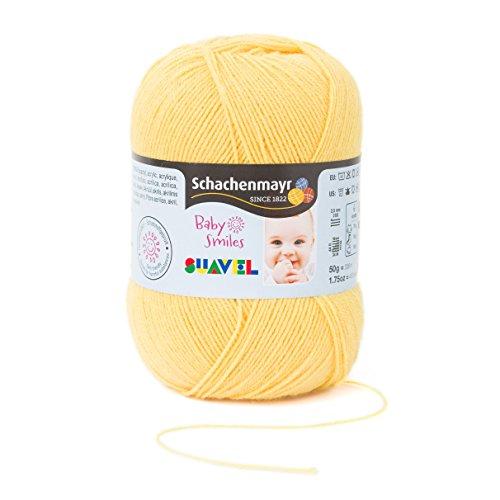 Schachenmayr Baby Smiles Suavel 9814876-01022 sundance Handstrickgarn, Häkelgarn, Babygarn