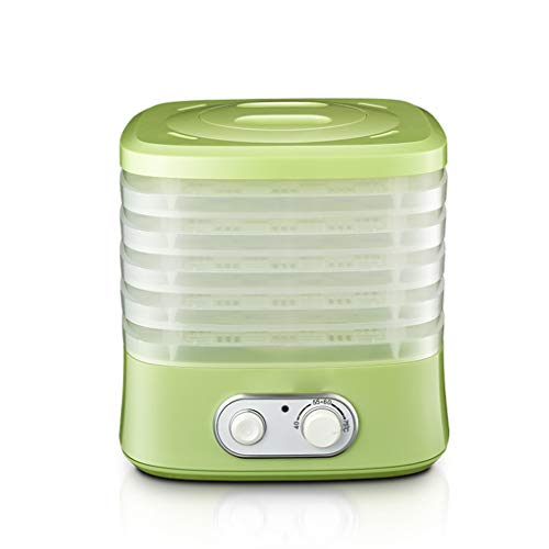 Lowest Prices! Food Dehydrator, Fruit Meat Vegetable Dehydrator Pet Food Household 5 Layer Compact I...