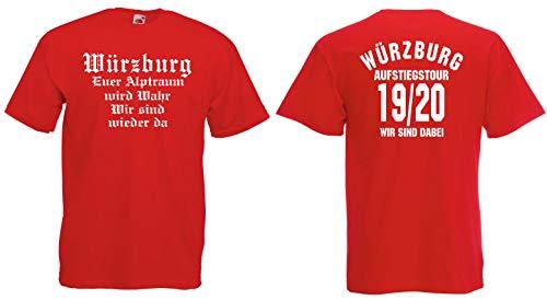 Würzburg Herren Aufstiegstour 2020 Ultras T-Shirt Aufsteiger