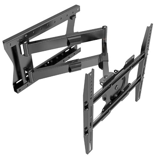 XTRARM Tantal - Supporto da parete per TV da 80 cm, colore nero, raccomandazione TV circa 32-75 pollici, VESA 100 x 100 200 x 200 400 x 400 mm