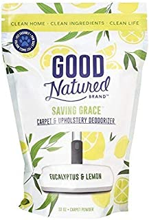 Good Natured Brand Saving Grace Carpet & Upholstery Deodorizer, Eucalyptus & Lemon - 32oz - All-Natural and Eco-Friendly, ...