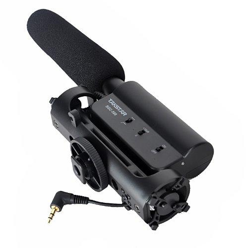 TAKSTAR Condensador Fotografía Entrevista Micrófono de grabación para Canon Nikon Cámara DSLR DV SGC-598