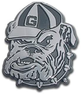 Georgia Bulldogs Metal Auto Emblem