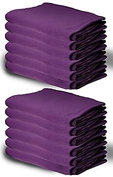 60 Pack of Bulk Soft Fleece Blankets 50  X 60  Cozy Warm Throw Blanket Sofa Travel Outdoor Wholesale