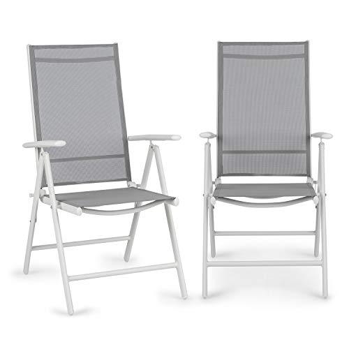 Blumfeldt Almeria Garden Chair - Dos sillas de jardín, Pleg