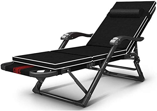 Recliner Patio Reclining Chairs Patio Reclining Chairs,Zero Gravity Chair Summer Patio Chairs Reclining Fold Single Bed Adult Household Office Nap Artifact Sun Lounger Chair sun lounger chair (Color :