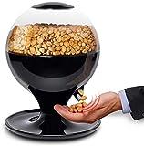Máquina de dulces activada por movimiento, mini dispensador automático de bocadillos de dulces sin contacto para pequeños chicles, nueces, bocadillos, bote de golosinas de fácil llenado para niños