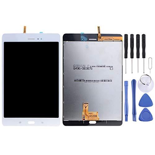 QWP Schermo Kit LCD Sostituzione dello Schermo e digitalizzatore Assemblea Completa for Galaxy Tab 8,0 / T355 (3G Version) (Nero) + Repair Tool Completa (Colore : Bianca)
