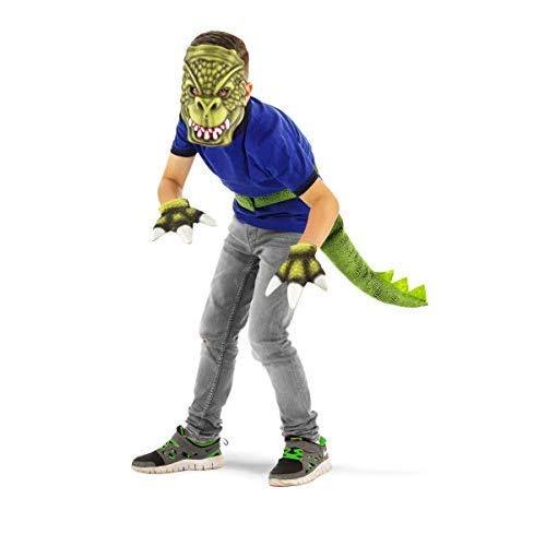Set per costume da dinosauro 3 pezzi - taglia per bambini