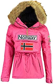 Geographical Norway Giacca Ragazze BOOMERA Fucsia 14