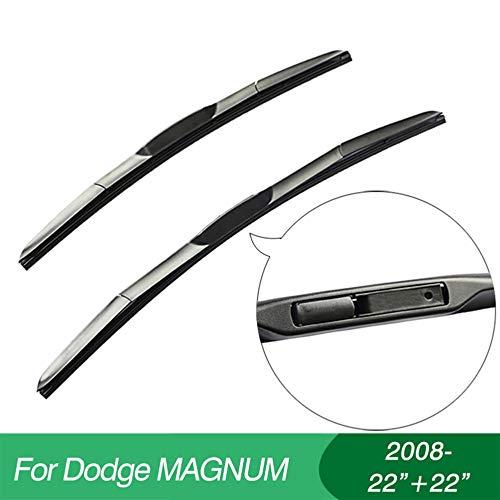 FLJKCT Wischerblätter Scheibenwischer Autozubehör, Fit für Dodge Magnum (2008-)