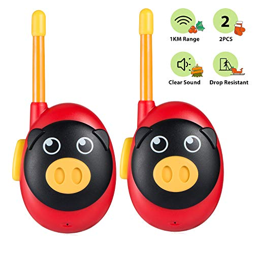 Jaybest Talkies Walkies pour Enfants, Portable Walkies Talkies pour avec Radio bidirectionnelle de...