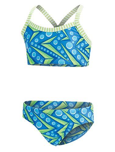Dolfin Girl's Uglies 2-Piece Bikini Swimsuit (Zenon, 10)