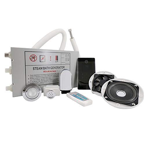 Tronitechnik Dampfgenerator Dampfdusche Dampfset Dampfbad Duschkabine Set