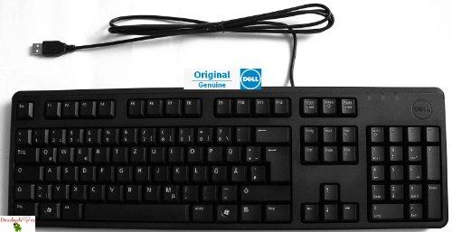 Original Dell Tastatur, Keyboard KB212-B, 0VF0F, 06RDX, 580-17612, DEUTSCH, USB