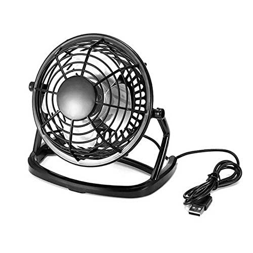 ZYNS Mini ventilador Mini Ventilador De Escritorio Portátil Mini Usb Fan Cooling Mini Desktop Fan Para Computadora Portátil Portátil Oficina Domiciliaria
