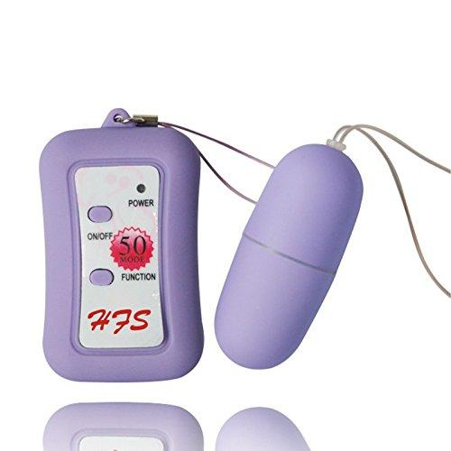 HESHOW Œuf Vibrant télécommandé, 50 fréquence, télécommande sans Fil,Puissant Vibrateurs...