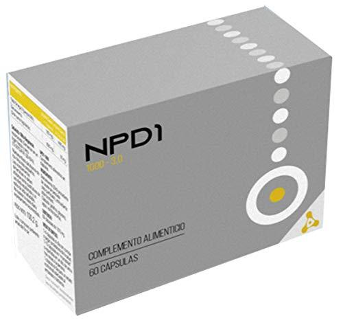 Celavista - NPD1 1000, Complemento Alimenticio con la Mayor Concentración de Omega 3 del Mercado, Libre de Ácido Fitánico, 60 Cápsulas